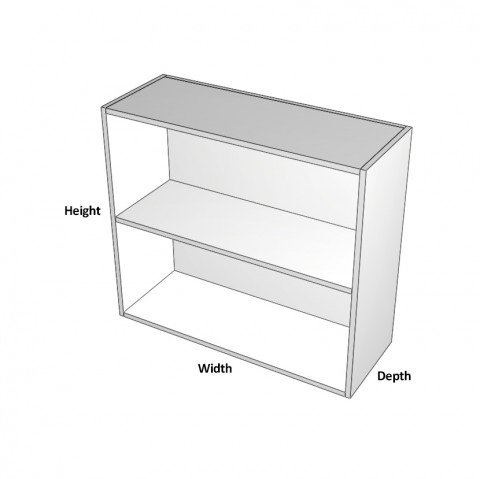 Open Cabinet in Colour Board dimensions