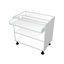 Carcass Only - Floor Cabinet - 1 Drawer at top