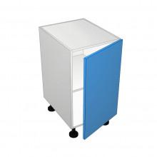 Raw MDF - Floor Cabinet - Solid Top - 1 Door - Hinged Right