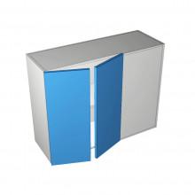 Formica 16mm ABS - Overhead Cabinet - Blind Corner - 2 Door (Left)