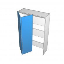Stylelite Acrylic - Appliance Cabinet - Hafele Bi-fold - 2 Doors - Hinge Left