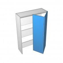 Bonlex Vinyl Wrapped - Appliance Cabinet - Hafele Bi-fold - 2 Doors - Hinge Right