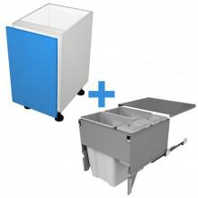 Raw MDF - 600mm Bin Cabinet - SIGE Bin