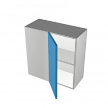 Raw MDF - Overhead Cabinet - Blind Corner - 1 Door - Hinged Left