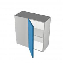 Raw MDF - Overhead Cabinet - Blind Corner - 1 Door - Hinged Left