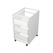 Carcass Only - Floor Cabinet - Suit Internal Drawers