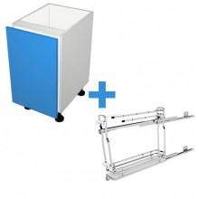 Raw MDF - 150mm - SIGE Towel Rail Cabinet