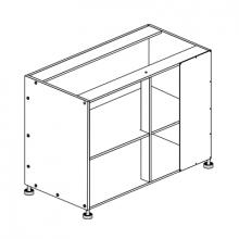 Hafele Cabinet - 1100mm - Blind Corner
