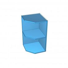 Stylelite Acrylic - Overhead Cabinet - Angled Open Corner - Colour Board