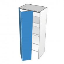 Bonlex Vinyl Wrapped - Pantry Cabinet - Hafele Bi-fold - 2 Doors - Hinge Left