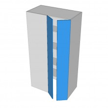 Stylelite Acrylic - Pantry Cabinet - Blind Corner - 2 Doors (Walk In Right)