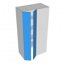 Polytec 16mm ABS - Pantry Cabinet - Blind Corner - 2 Doors (Walk In Left)