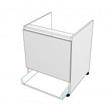 Carcass Only - Under Bench Oven Cabinet - 1 Drawer (Blum_Legrabox)