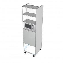 Carcass Only - Walloven Cabinet - Microwave Recess - 1 Drawer (Blum Legrabox)