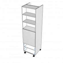 Carcass Only - Walloven Cabinet - Microwave Recess - 2 Drawers (Blum Legrabox)
