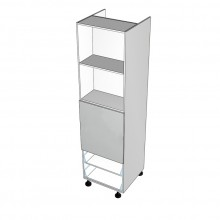 Carcass Only - Walloven Cabinet - 2 Drawers (Blum)