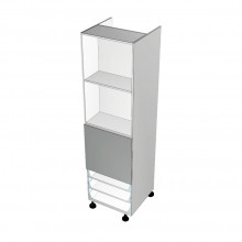 Carcass Only - Walloven Cabinet - 3 Drawers (Blum)