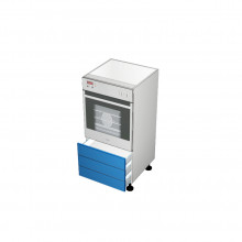 Raw MDF - Walloven Cabinet - 3 Drawers (Blum Legrabox)