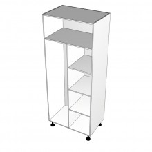 Laminex 16mm ABS - Wardrobe Cabinet - Hanging Space Left