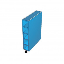 Stylelite Acrylic - Floor Cabinet - Wine Rack - Colour Board