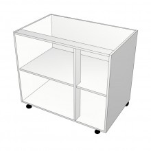 Carcass Only - Floor Cabinet - Right Hand Mullion