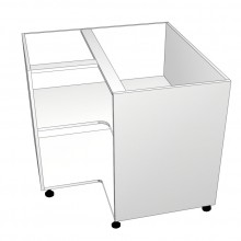 Carcass Only - Floor Cabinet - Open Corner