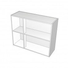 Carcass Only - Overhead Cabinet - Left Hand Mullion