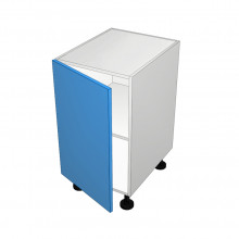 Polytec 16mm ABS - Floor Cabinet - Solid Top - 1 Door - Hinged Left