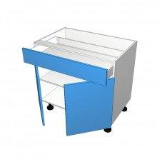 Laminex 16mm ABS - Floor Cabinet - 1 Drawer - 2 Doors