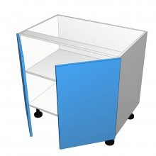 Laminex 16mm ABS - Floor Cabinet - 2 Doors