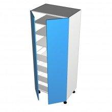 Raw MDF - Pantry Cabinet - 2 doors - Suit Internal Drawers
