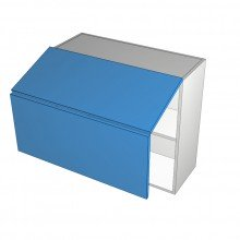 Raw MDF - Overhead Cabinet - Aventos HF - 2 Doors