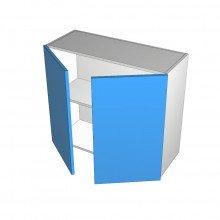 Raw MDF - Overhead Cabinet - 2 Doors