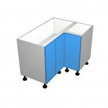 Laminex 16mm ABS - Floor Cabinet - Open Corner - 3 Doors - (2 Left 1 Right)