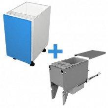 Raw MDF - 300mm Bin Cabinet - SIGE Bin