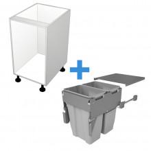 Carcass Only - 500mm Bin Cabinet - SIGE Bin