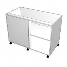 Carcass Only - Floor Cabinet - Blind Corner - Right Hand Opening