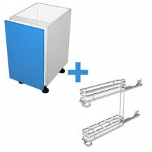 Raw MDF - 150mm - SIGE Pullout Cabinet