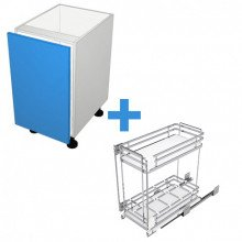 Raw MDF - 450mm - SIGE Pullout Cabinet
