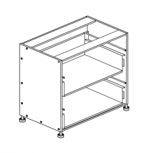 Hafele Cabinet - 900mm - 2 Drawers