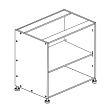 Hafele Cabinet - 800mm - Base