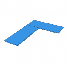 Duropal Quadra - 'L' Shape - Type A