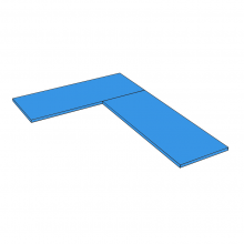Duropal Quadra - 'L' Shape - Type B
