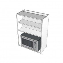 Carcass Only - Overhead Cabinet - Built In Microwave Opening