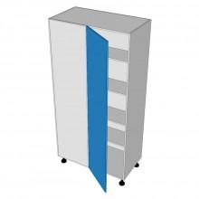 Formica 16mm ABS - Pantry Cabinet - Blind Corner - 1 Door - Hinged Left