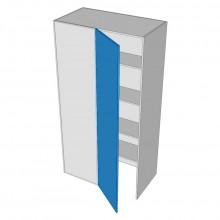 Painted - Pantry Cabinet - Blind Corner - 1 Door - Hinged Left (Walk In)