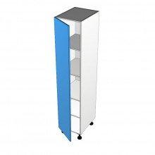 Stylelite Acrylic - Pantry Cabinet - 1 Door - Hinged Left
