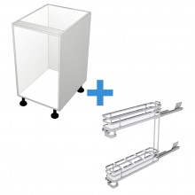 Carcass Only - 150mm - SIGE Pullout Cabinet