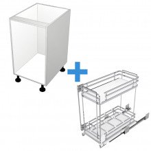 Carcass Only - 450mm - SIGE Pullout Cabinet