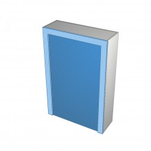 Stylelite Acrylic - Appliance Cabinet - Frame and Roller Door